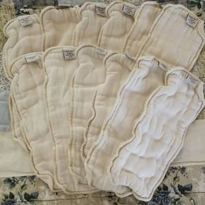 12 Clotheez Organic Doublers for Cloth Diapers